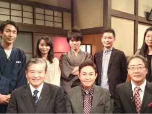 祝・NHK教育テレビデビュー!忠臣蔵!(大好きな歴史番組にチラッと出演!)の巻。